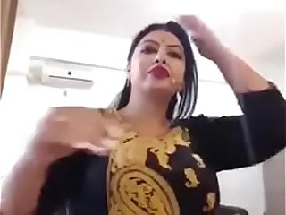 Big tits Indian model on web cam