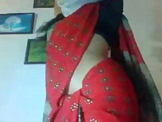 Horny Desi INDIAN cheating Sweepings wife SHOW gut roughly webcam