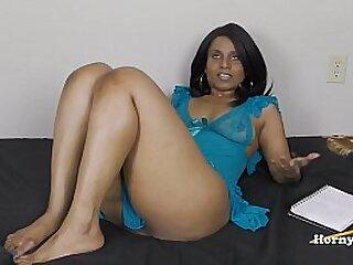 Ebony dildo for indian milf