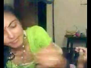 Indian Honeymoon lovemaking with audio @ Leopard69Puma