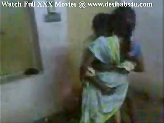 Indian Aunty invited her whisper suppress friend and enjoying