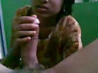 Indian GF Homemade Blowjob