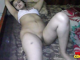 Sonia Bhabhi Indian Housewife Spreading Long Blue Legs For Copulation