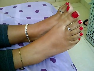 legal age teenager indian feet