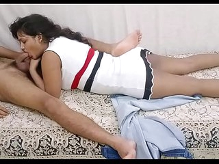 Teen Indian Girl Sarika Fucking Deepthroat added to Sucking Fat Cock