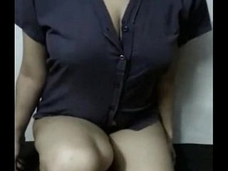 Indian Hot Flagstaff hot figured Paki hottie giving a defoliated show for you homemade - Wowmoyback