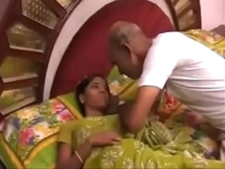 Indian Grandpa and Grand Daughter Play for Money @worldfreex.com