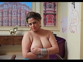 Hot Sexy Indian Bhabhi Exposes her big boobs coupled with is fukked - Full Hot Masti Bhabhi Series !!