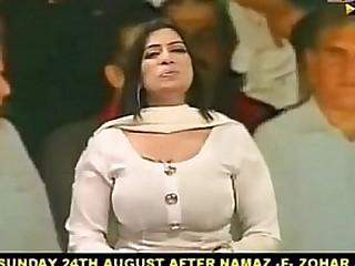 Busty Big Boobs Thick Sexy Milf Pakistani Actress Nadra Chaudhary.FLV